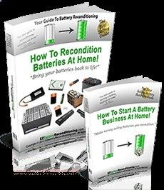 Learn how to easily recondition old batteries back to 100% of their working condition. Our battery reconditioning methods works for nearly all types of batteries (car, phone, laptop, solar#x2F;wind, forklift, golf cart, marine batteries - PLUS a lot more)!