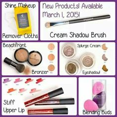 New makeup and products coming March 2015! Which one are you excited for most? www.youniqueproducts.com/banderson