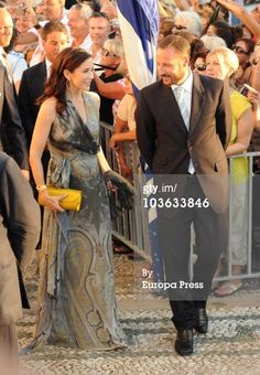 News Photo : Princess Mary of Denmark and Prince Haakon of... and Prince Haakon of Norway arrive to attend the wedding of Tatiana Blatnik with Prince Nikolaos of Greece at the Cathedral of Ayios Nikolaos (St. Nicholas) on August 25, 2010 in Spetses, Greece