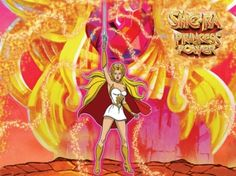 She-Ra Princess of Power:  I don't think I had any toys (just watched the show), but what's not to like about a female version of He-Man who rode a winged unicorn and kicked ass?