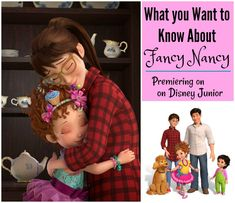 Disney Junior's Fancy Nancy is premiering soon - an all-new animated television series, and I have all the scoop! Yes, I've watched the first episode!