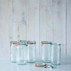 Weck Asparagus Jar 8 Ounce (Set of 6) on Provisions by Food52