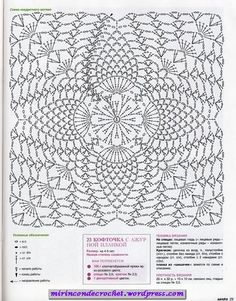 Irish lace, crochet, crochet patterns, clothing and decorations for the house, crocheted. Filet Crochet, Crochet Bolero, Crochet Diagram, Crochet Chart, Thread Crochet, Irish Crochet, Crochet Doilies, Knit Crochet, Crochet Motif Patterns