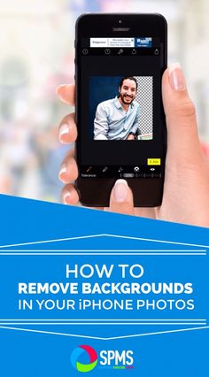 Easily get rid of unwanted backgrounds in your iPhone photos - in literally seconds!