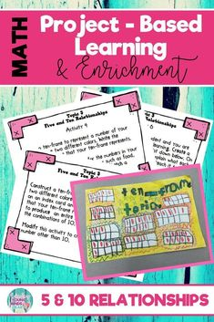 8 interactive and fun 1st and 2nd grade common math enrichment projects that foster real life problem-solving. These project-based activities challenge elementary students and are perfect for gifted or highly capable students. Click the link to see what t