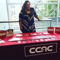 Director of Admissions Kristin Spiker at #CCAC #Allegheny Campus is here to answer your questions! There's still time to enroll for Fall 2016 classes beginning on September 6!