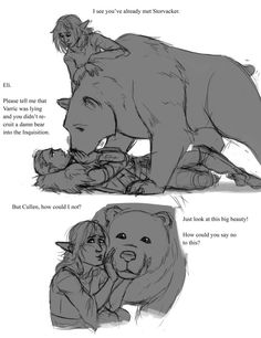 Storvacker likes Cullen. What a cutie!