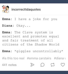 Emma... *Julian shaking head in the distance*