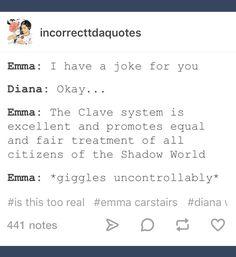 Emma... *Julian shaking head in the distance*
