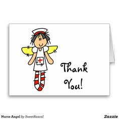 Nurse Angel Greeting Card