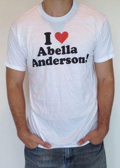 Abella anderson green shirt