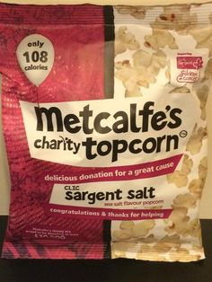 Metcalfe's Charity Topcorn (UK)