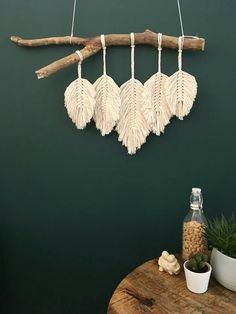 macrame/macrame anleitung+macrame diy/macrame wall hanging/macrame plant hanger/macrame knots+macrame schlüsselanhänger+macrame blumenampel+TWOME I Macrame Natural Dyer Maker Educator/MangoAndMore macrame studio Macrame Design, Macrame Art, Macrame Projects, Macrame Knots, Macrame Mirror, Macrame Curtain, Art Projects, Yarn Wall Art, Hanging Wall Art