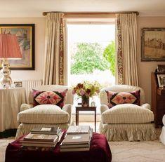 Home Interior Diy Design Crush: Sarah Vanrenen - Katie Considers Country House Interior, Interior Garden, Interior Design Inspiration, Home Interior Design, Style Anglais, English Decor, Hippie Home Decor, Drawing Room, Style At Home