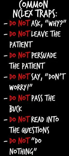 Nclex Tips !