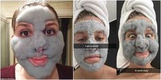 Máscara facial gaseficada Mascara, Baseball Cards, Best Selfies, Face Hair Removal, Clay Masks, Skin Treatments, Face Masks, New Trends, Eyebrow