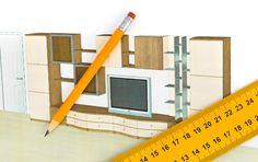 Want to make your trip to The Wooden Chair more productive? A little advance planning will ensure a productive visit.  Make a sketch. A simple drawing of your concept with dimensions will save a thousand words.  Measure your space or room. A diagram showing doors, windows, heating vents, and other elements will guide the review of possible options.  Measure objects you will place in or on your furniture. TV, computer, microwave, fish tank, or over-sized books are items to consider.