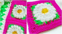 Sometimes you meet someting so amazing and unique that take breath away. This is it. It's enough to watch the pattern to understand you are able to do this gorgeous flower blanket. Floral fol…