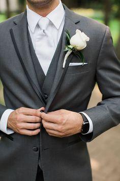 Wedding Ideas by Colour: Grey Wedding Suits - Three-piece   CHWV