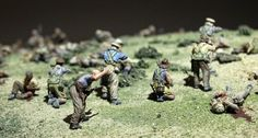 Mustering the Troops: First pics of massive Gallipoli diorama at The Great War Exhibition