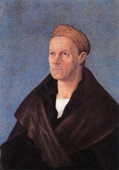 1518-20.Albrecht DÜRER.Jakob Fugger.the Wealthy.Tempera on canvas,69,4x53cm.Staatsgalerie, Augsburg.