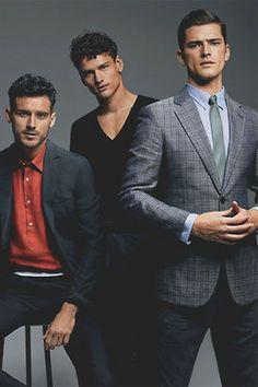 nxstyle:  Arthur Kulkov, Simon Nessman and Sean O'Pry for Details Fashion Issue 2014.