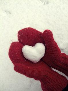 ♥ en neige