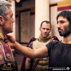 """Boaz discovered the true meaning of """"live by the sword."""" Don't miss an all new A.D. The Bible Continues, Sunday at 9/8c on NBC. 