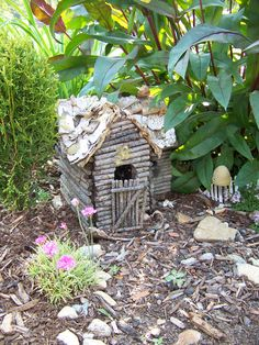 Garden Fairy Houses Twigs | Fairy Garden | Garden In The Burrow