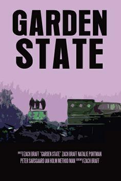 Garden State Movie Poster Art Print