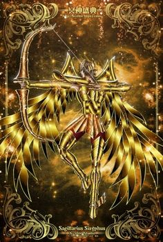 Saint Seiya - The Lost Canvas - Sagittarius Sisyphe