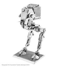 3D Medal AT-ST Star Wars