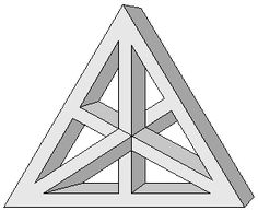 Greyscale figures - Impossible world Le Triangle, Rangoli Borders, Geometric 3d, Beautiful Nature Pictures, Graffiti Drawing, Hawaiian Tattoo, 3d Shapes, Metal Furniture, Op Art