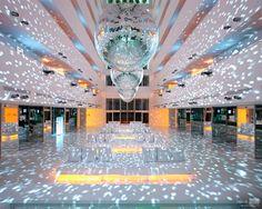 Lobby of Hillside Su hotel, Antalya, Turkey