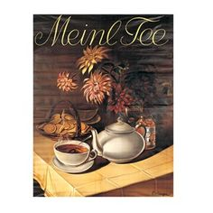 Shop with Julius Meinl online and enjoy a cup of Meinl coffee at home. Teapots, Vintage Advertisements, Coffee Shop, Advertising, Posters, Tees, Painting, Coffee, Economics