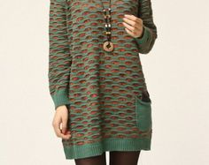 popular-knitwear-cotton-dress-large-knitted-sweater