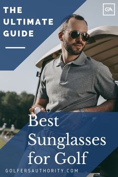 Golf Fashion Are you looking for the Best Sunglasses for Golf? Check out our in depth buyers guide to find the best pair of sunglasses for you. Golf Sunglasses, Golf Wear, Golf Accessories, Golf Fashion, Mens Golf, Play Golf, Golf Outfit, Ladies Golf, Golf Tips