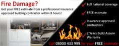 Probuild Contractors Network are here 24 hours a day. We specialise in fire and flood restoration.
