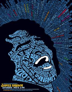 Awesome Concert Posters | James Brown | 40 Awesome Concert Posters - Yahoo Music