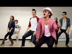 "Let's get Uptown Funky! | WongFu Productions || Note: Phil teaches crew a dance piece. ""Don't believe me just watch."" Love how some just give up, haha. *ahem* Wes."