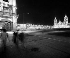 Frank Scherschel. Zocalo. Mexico City. 1950s.
