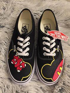 Mickey   Minnie Adult Custom VANS Shoes 2966d7a208
