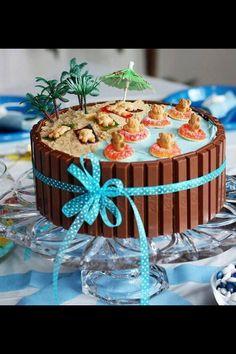 Cake hawiian