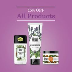 December 3rd only, take 15% off your entire purchase at NourishOrganic.com as our gift to you!