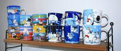 pientä mutta suurta: Arabia´s seasonal Moomin mugs from 2006-2012