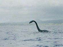 Sea Monster sighting reconstruction.