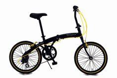 折りたたみ自転車20インチ折り畳み自転車軽量アルミフレームシマノ6段変速WACHSENヴァクセンHWBA-100AngriffLKRSS超軽量コンパクト街乗りスピードメンズレディース