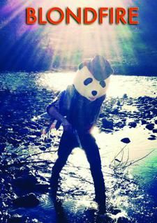 Blondfire. It's the cowboy-panda that bleeds red glitter and mints from the music video. YAY!