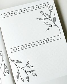 """256 Me gusta, 5 comentarios - Bujo Nina (@bujo_nina) en Instagram: """"There's just something about a fresh, new spread ..."""""""