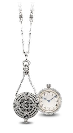 C.H. MEYLAN. A FINE AND DELICATE PLATINUM, GOLD, ENAMEL AND DIAMOND-SET MINIATURE OPENFACE KEYLESS LEVER PENDANT WATCH -  SIGNED C.H. MEYLAN, MOVEMENT NO. 26'033, CASE NO. 197'760, CIRCA 1910.